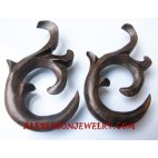 Carving Earring Wood