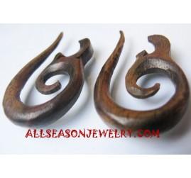 Tribals Earring Carvings
