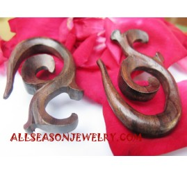 Tribals Earrings Carvings
