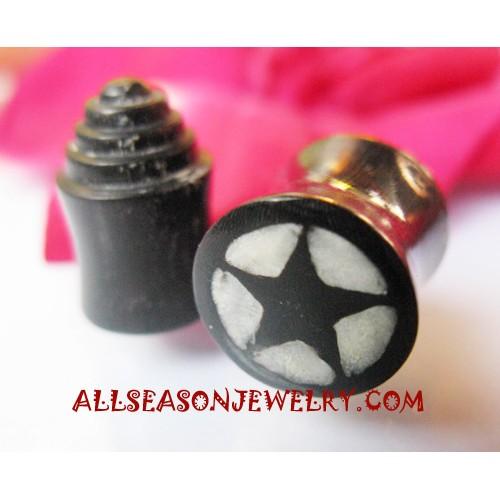 Horn Earring Plugs