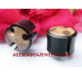 Wooden Plug Earrings