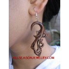 Hand Carvings Earring Hook