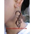 Hand Carvings Earring Hook
