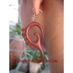 Expander Tribal Earring Wood