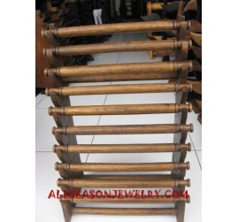 Wooden Bracelets Display Bangle Handmade
