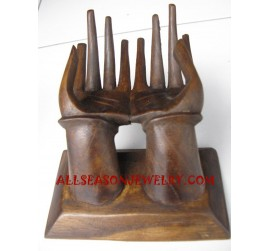 Wooden Display Rings Hand Chair Design