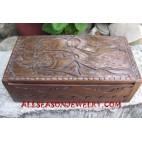 Wood Box Bangle