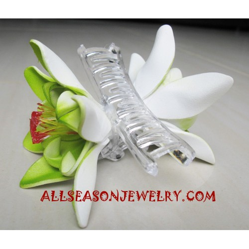 Hairs Clips Flowers