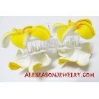 Ladies Hair Clip Flower