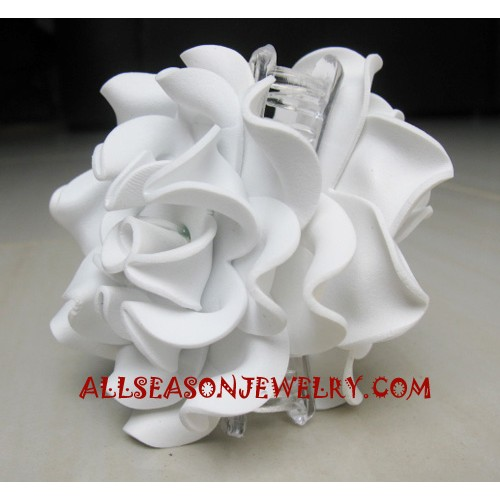 Rose Hairs Clips