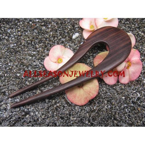 Natural Wood Hair Stick