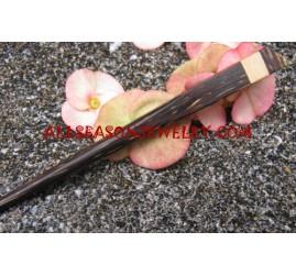 Natural Wood Hair Sticks