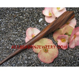 Wood Hair Stick Natural