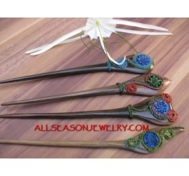Wooden Hair Stick Women