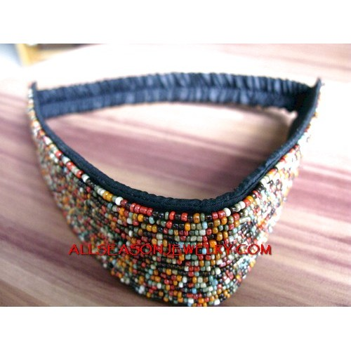 Headbands Beads Stretch