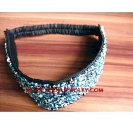 Women Headbands Bead