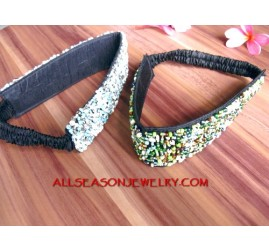 Stretch Bead Headbands