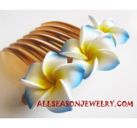 Flower Hairs Combs