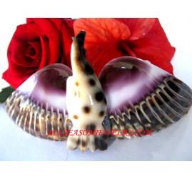 Bird Shell Hairpins