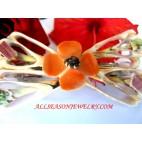 Flower Shell Hairpins