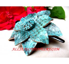 Leather Hairpins Jewelry