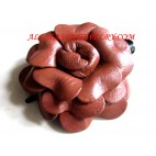 Women Hair leather flowers