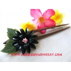 Accessories Leather Hairstick