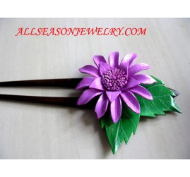 Hair Stick Leather