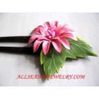 Leather Hair Stick