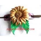 Leather Hairstick Design