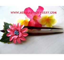 Leather Hairstick accessories