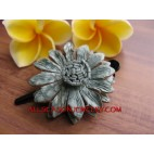 Leather Hair Slide Leather