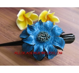 Cow Leather Hair Slide