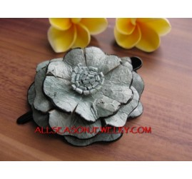 Genuine Leather Hair Slide