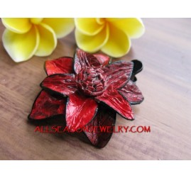 Leather Hair Slide Fashion