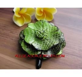 Hand Crafts Hair Flower Slide