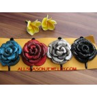 leather Flower for Women