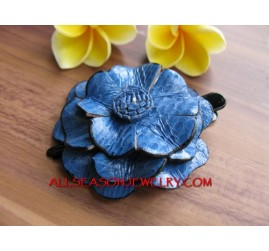 Medium Flower Hair Slide