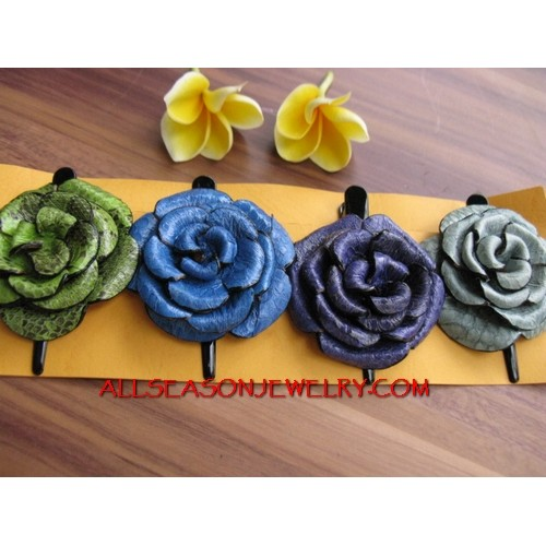 Mix Coloring Hair FLower