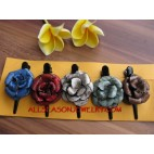 Small Flower Set 5 Hair Slide