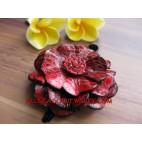 Short Hair Flower Fashion Pin