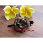 Flower Tropical Hair Slide