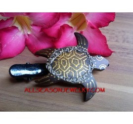 King Turtle Carving Wood