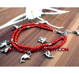 Women Anklet Beads