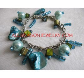 women anklets shells