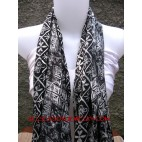 bali batik silk scarf Women Accessories