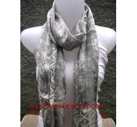 bali printing scarf Handmade