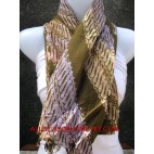 bali hand batik traditional cotton scarf classic