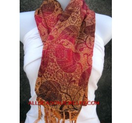 cotton batik scarf