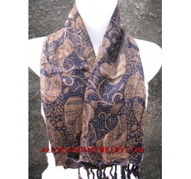 batik cotton scarves bali